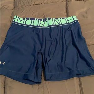Under Armour spanx shorts